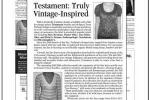 Testament: Truly Vintage Inspired